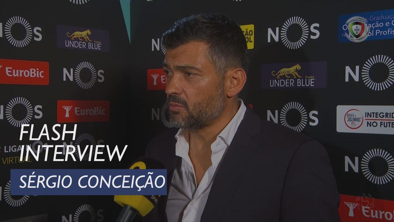 Liga (7ª): Flash Interview Sérgio Conceição