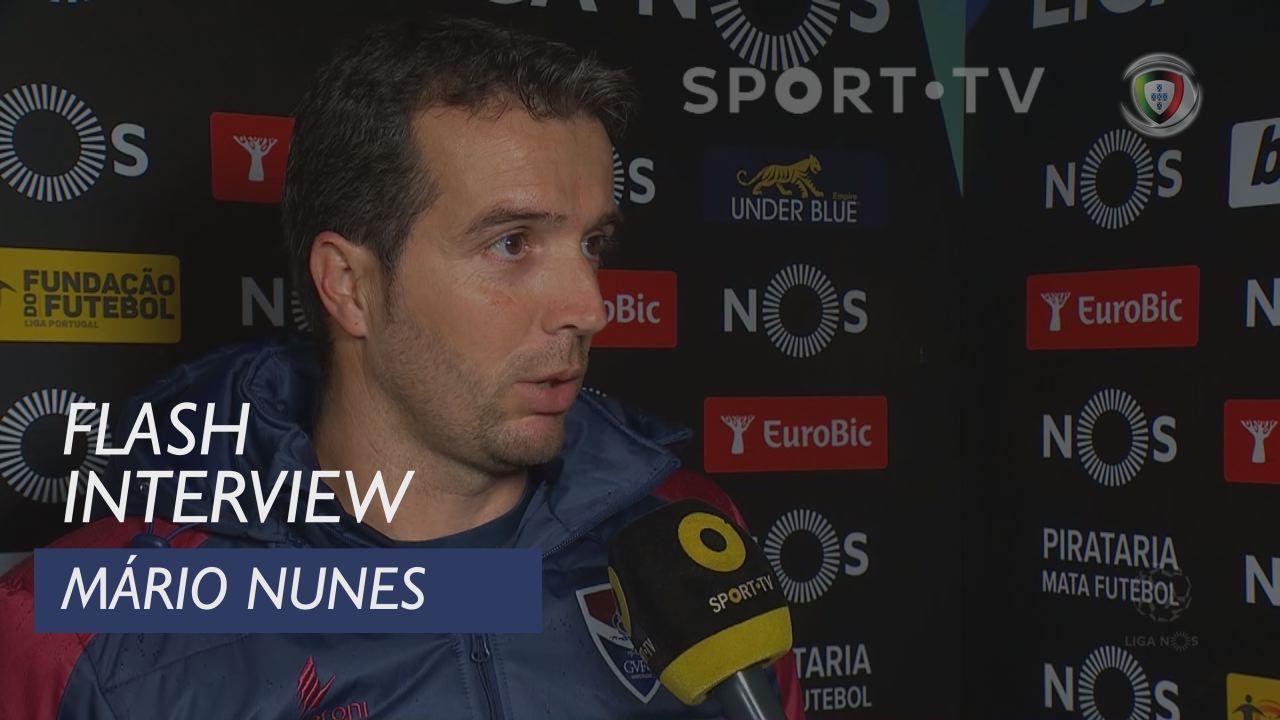Liga (18ª): Flash Interview Mário Nunes