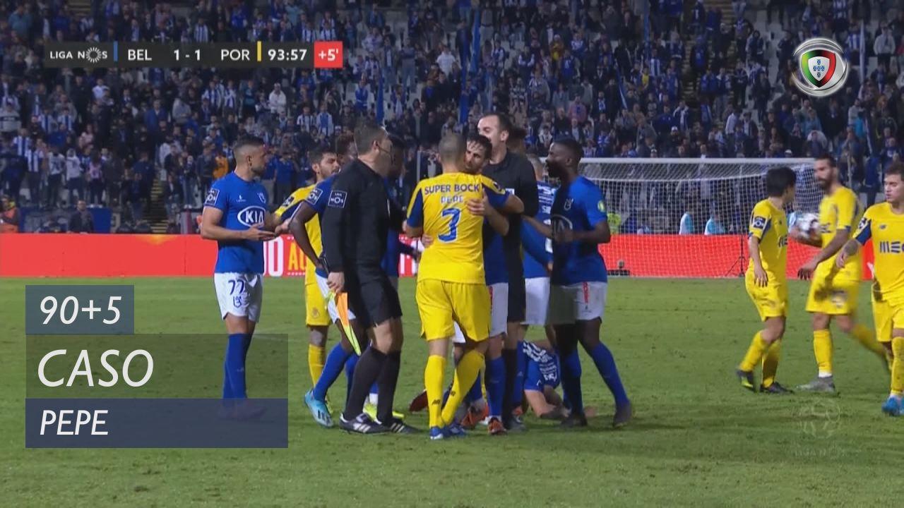 FC Porto, Caso, Pepe aos 90'+5'