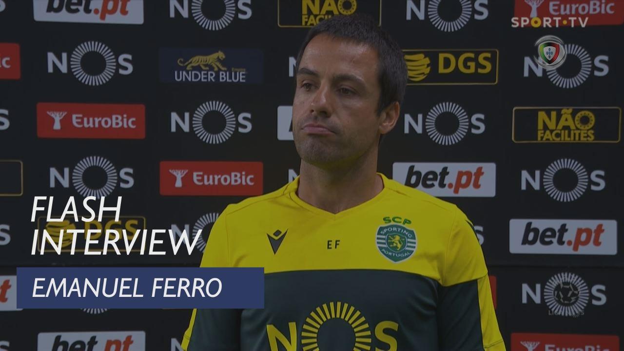 """Emanuel Ferro: """"Vitória é plenamente justa"""""""