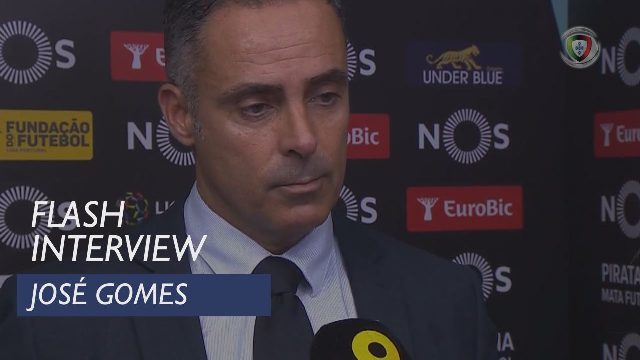 Liga (18ª): Flash Interview José Gomes