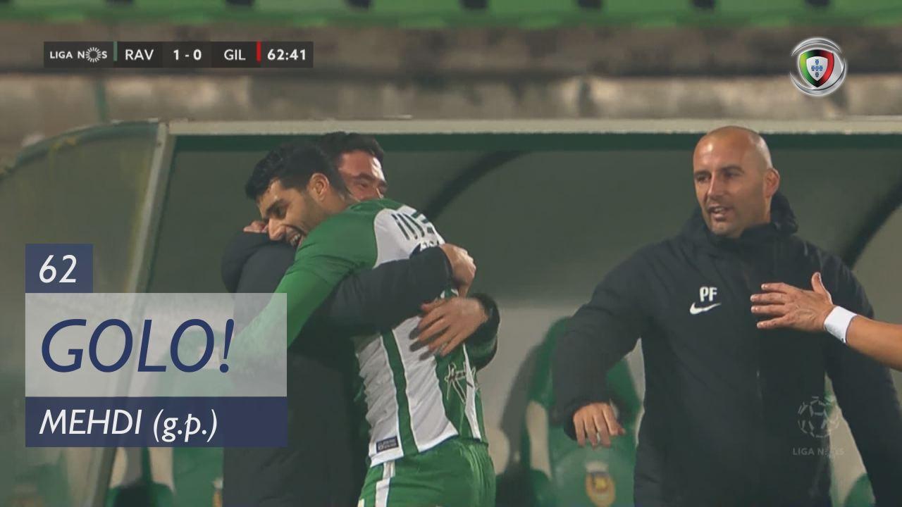 GOLO! Rio Ave FC, Mehdi aos 62', Rio Ave FC 1-0 Gi...