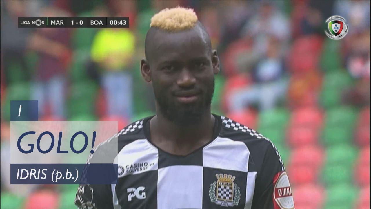 GOLO! Marítimo M., Idris (p.b.) aos 1', Marítimo M. 1-0 Boavista FC