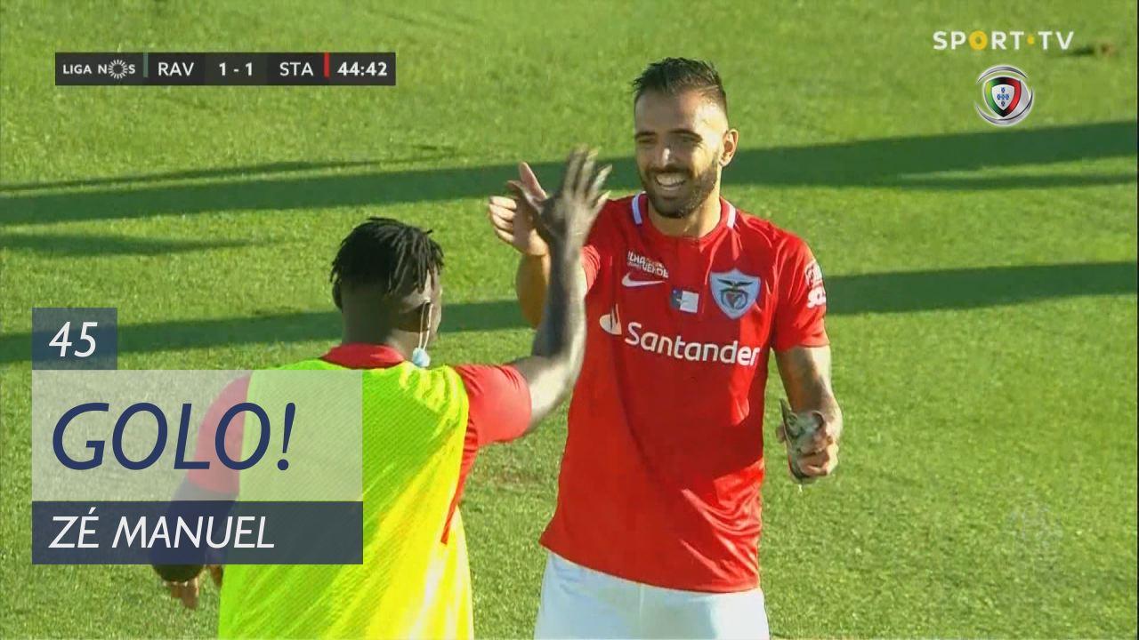 GOLO! Santa Clara, Zé Manuel aos 45', Rio Ave FC 1-1 Santa Clara