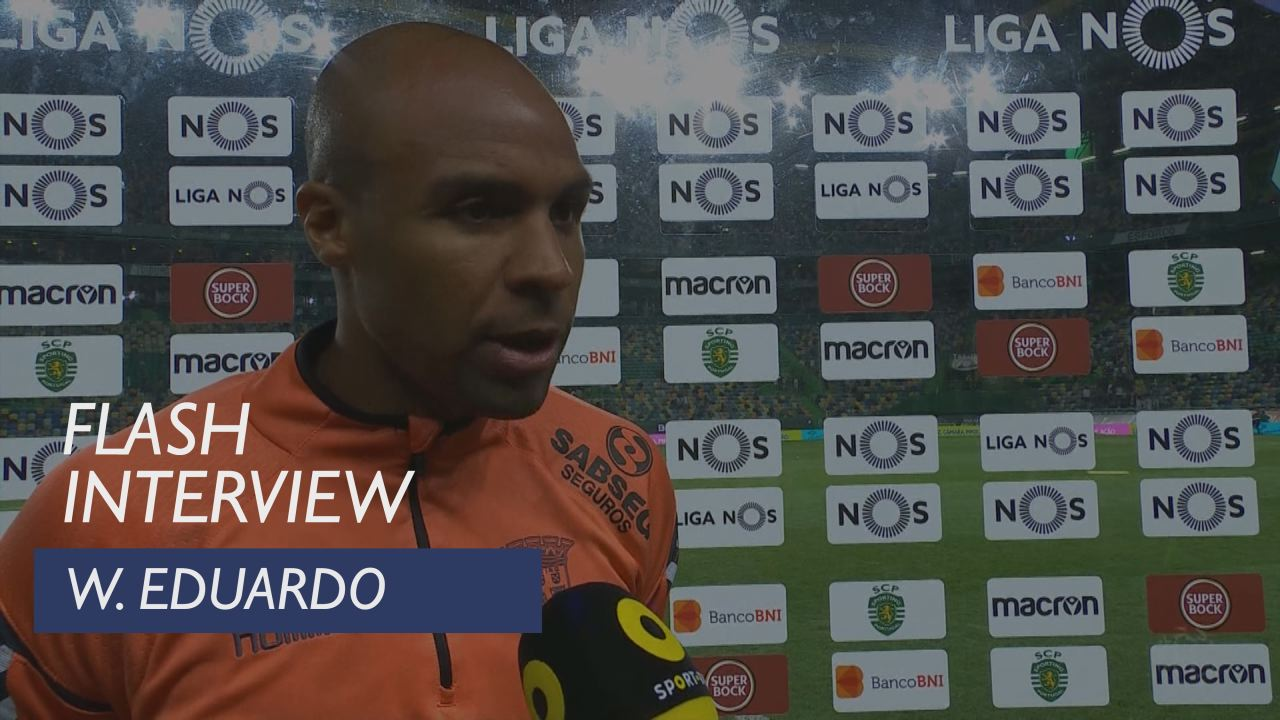 Liga (2ª): Flash Interview Wilson Eduardo