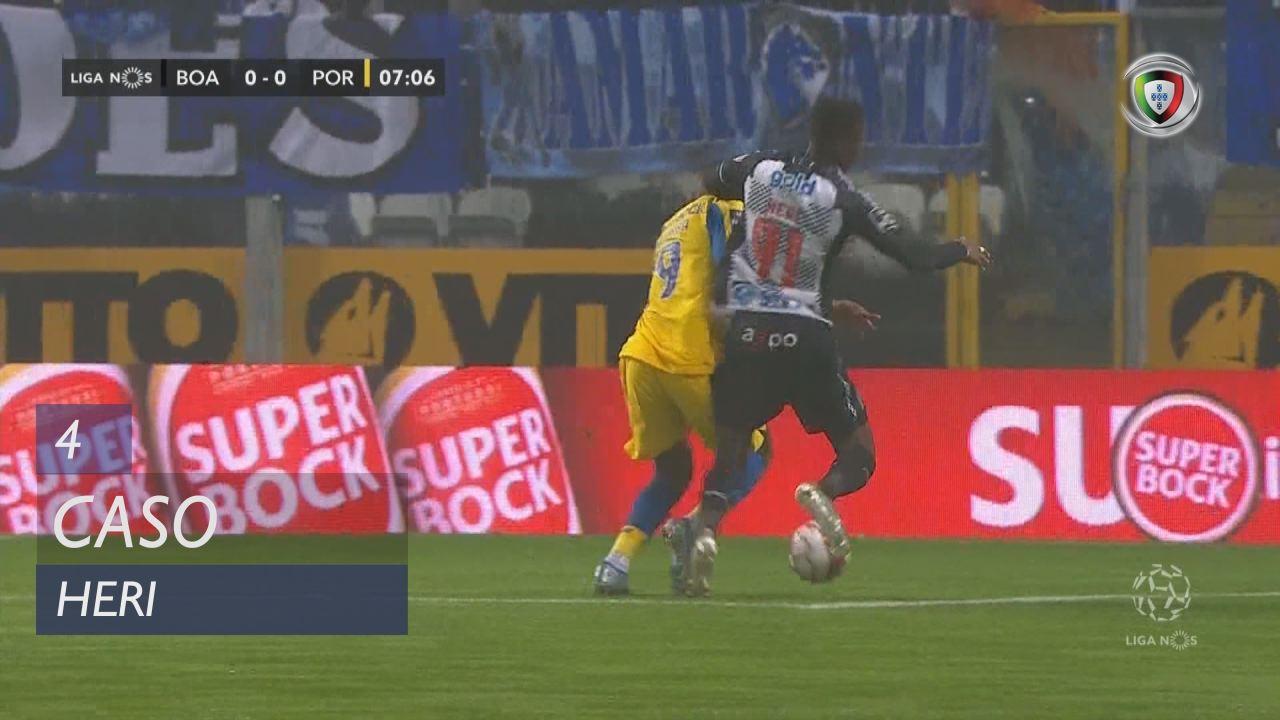 Boavista FC, Caso, Heri aos 4'