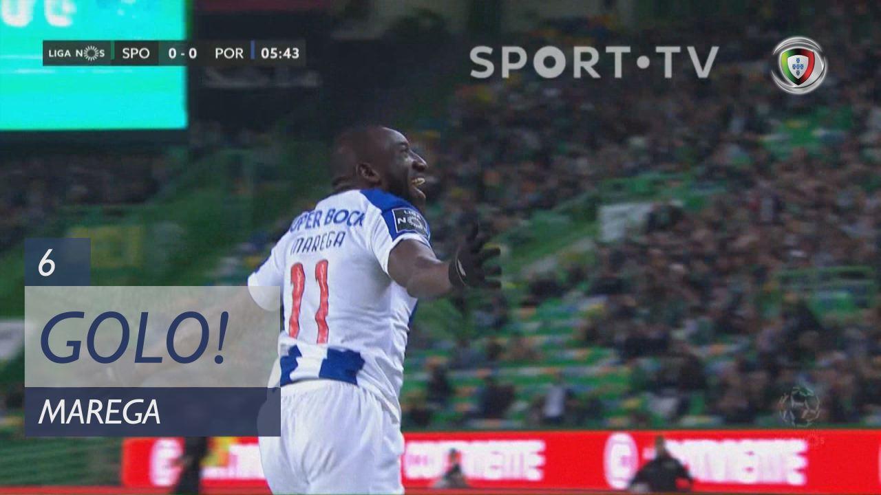 GOLO! FC Porto, Marega aos 6', Sporting CP 0-1 FC Porto