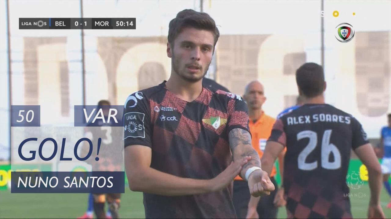 GOLO! Moreirense FC, Nuno Santos aos 50', Belenens...