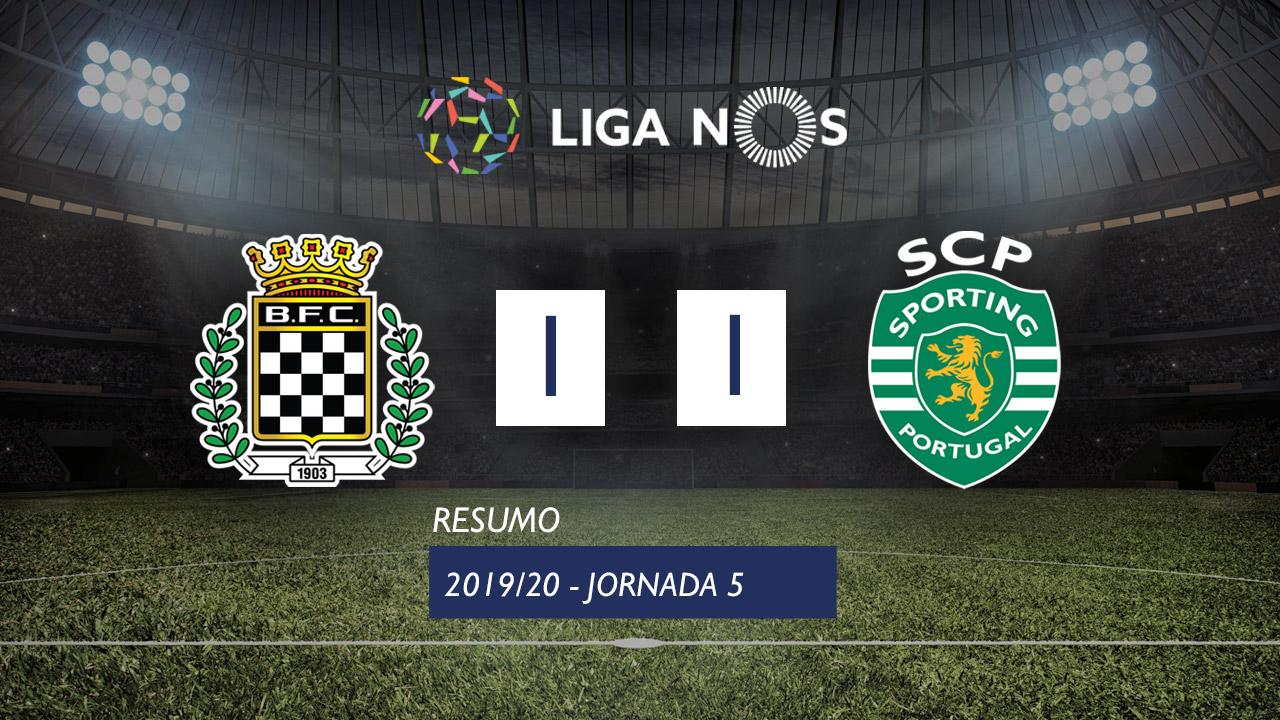 I Liga (5ªJ): Resumo Boavista FC 1-1 Sporting CP