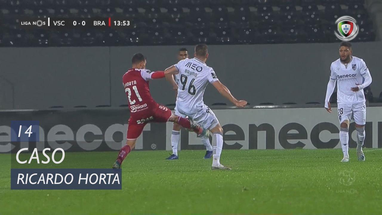 SC Braga, Caso, Ricardo Horta aos 14'