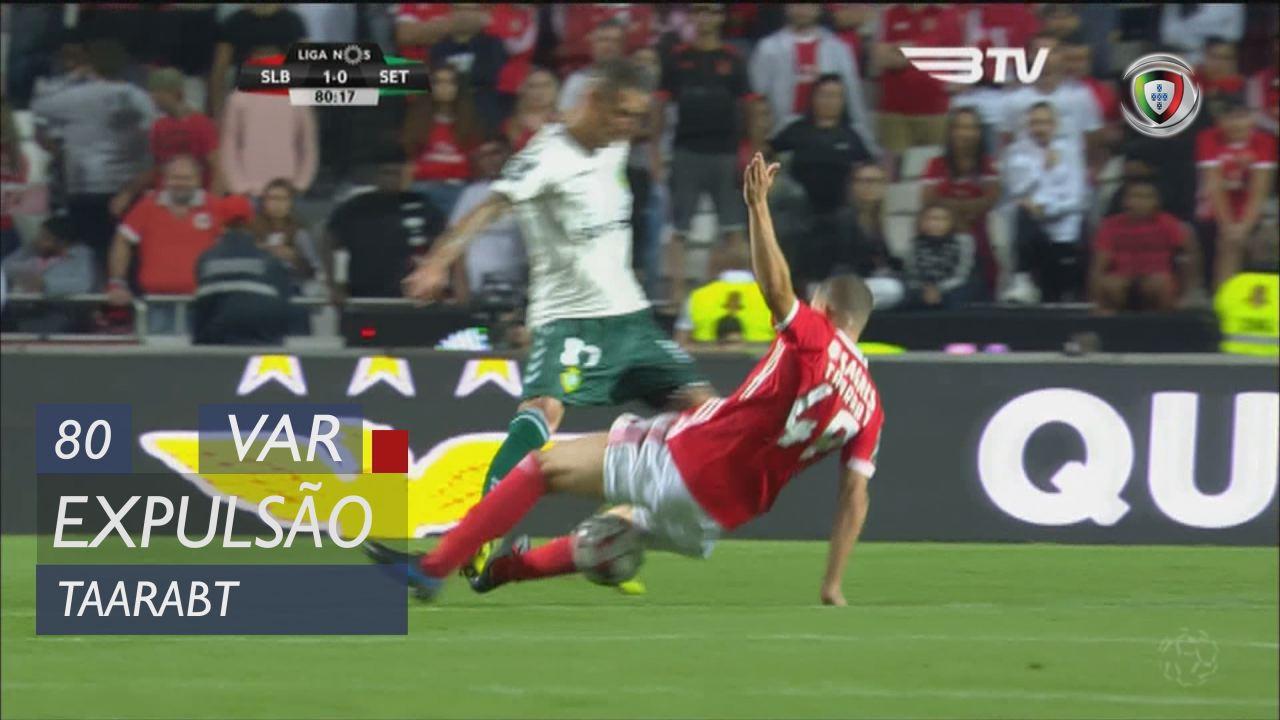 SL Benfica, Expulsão, Taarabt aos 80'