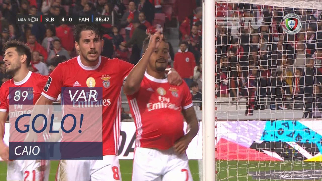 GOLO! SL Benfica, Caio aos 89', SL Benfica 4-0 FC Famalicão