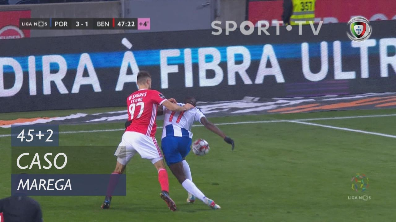 FC Porto, Caso, Marega aos 45'+2'