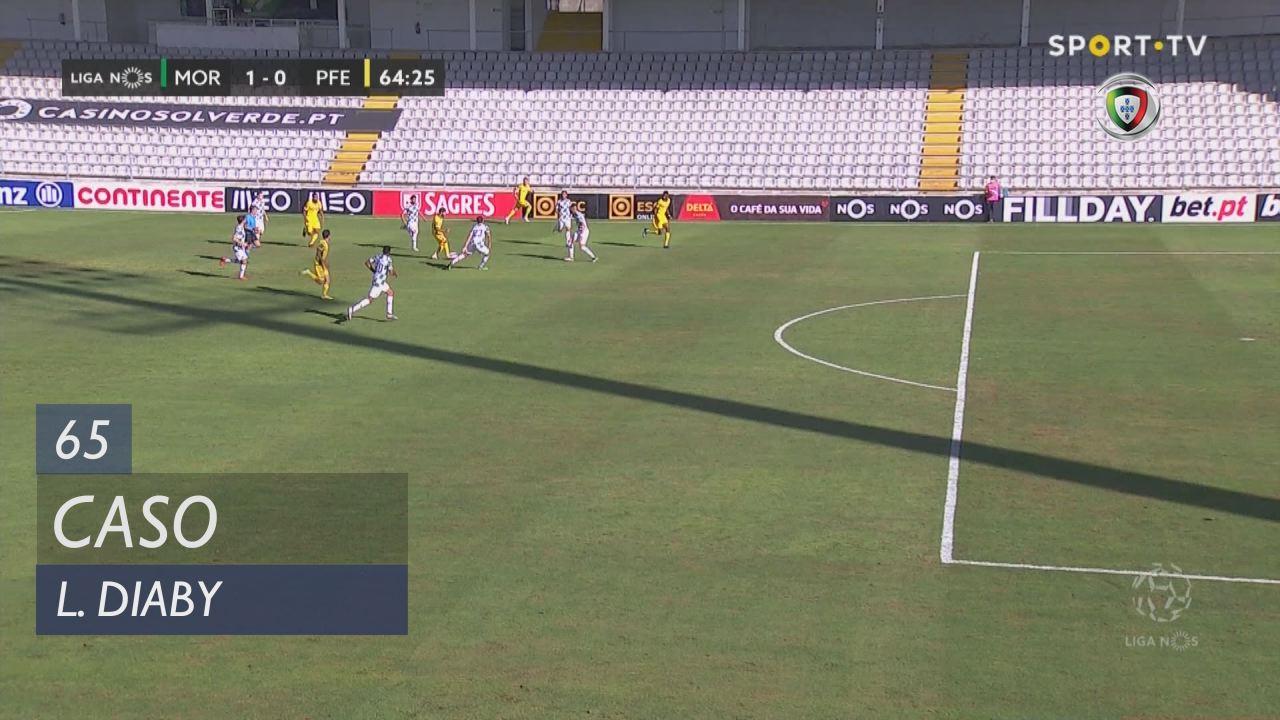 FC P.Ferreira, Caso, L. Diaby aos 65'