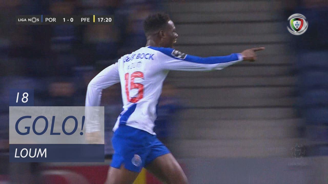 GOLO! FC Porto, Loum aos 18', FC Porto 1-0 FC P.Ferreira