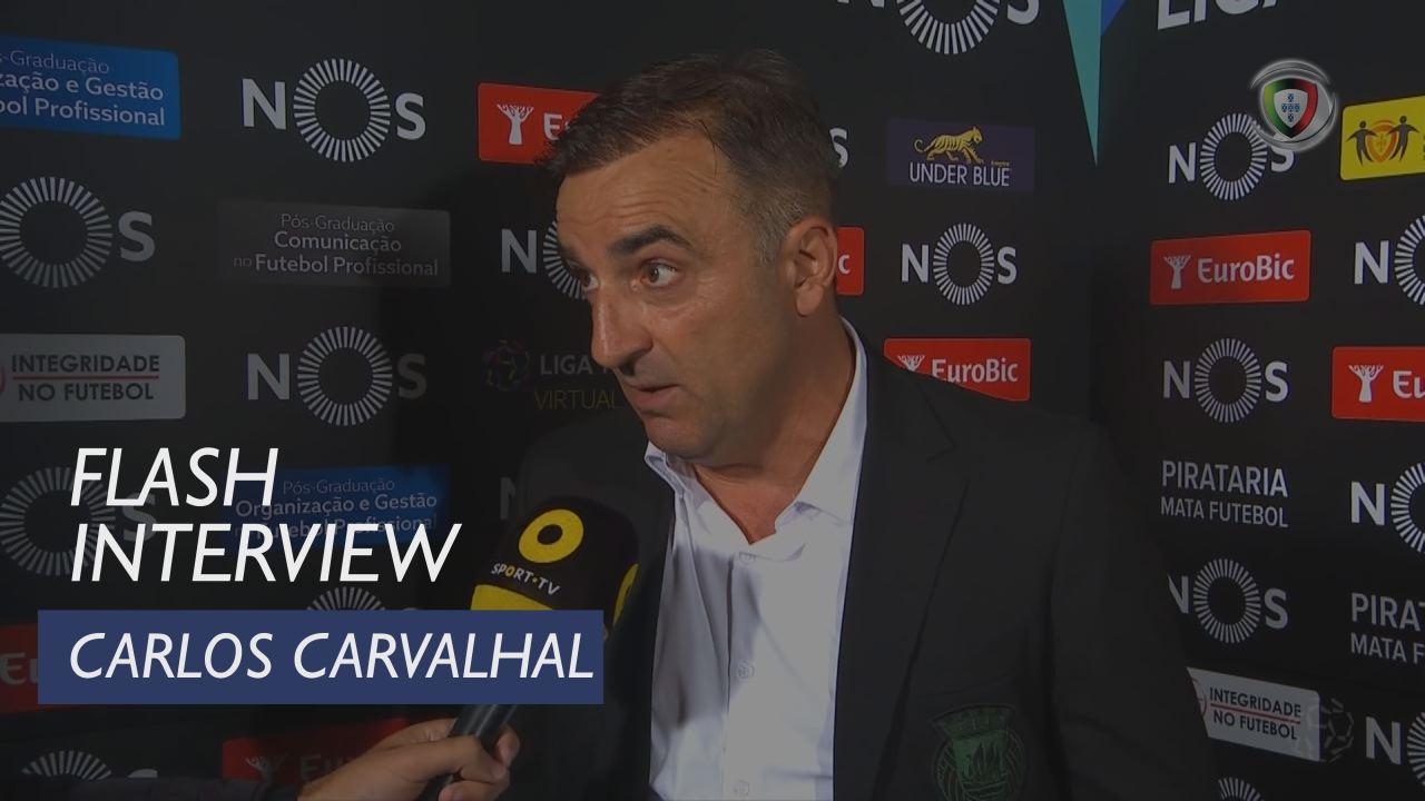 Liga (7ª): Flash Interview Carlos Carvalhal