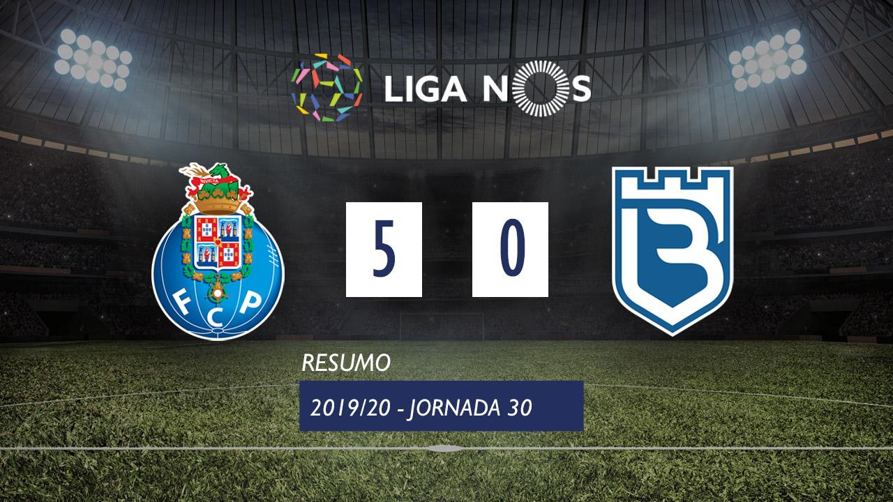 I Liga (30ªJ): Resumo FC Porto 5-0 Belenenses