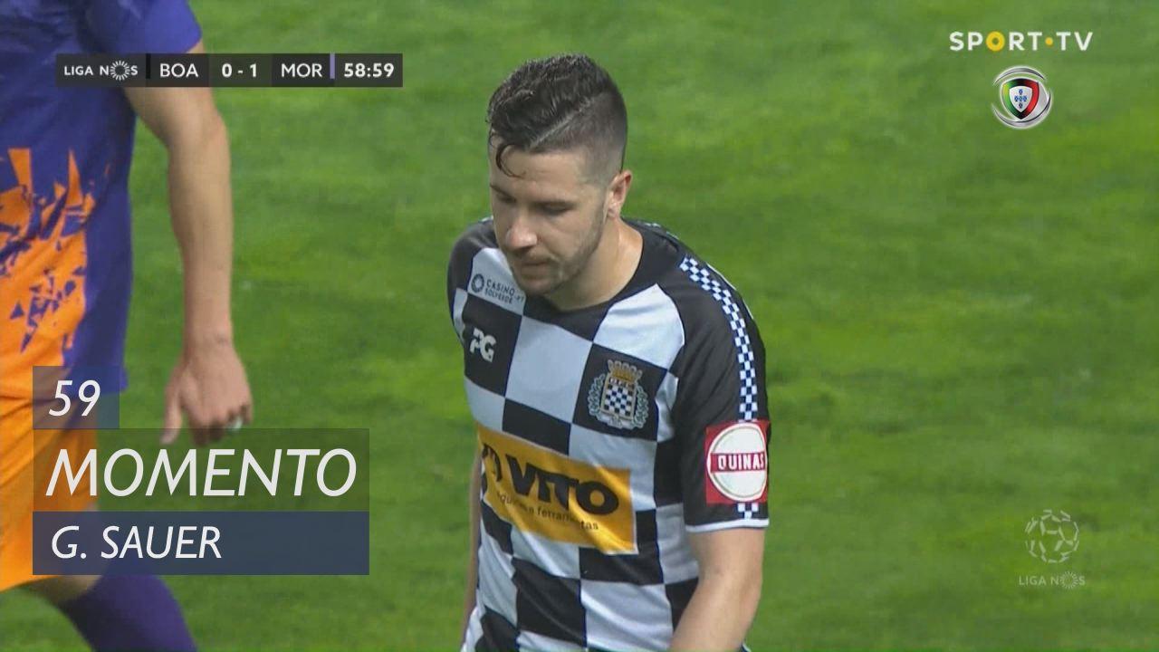 Boavista FC, Jogada, G. Sauer aos 59'