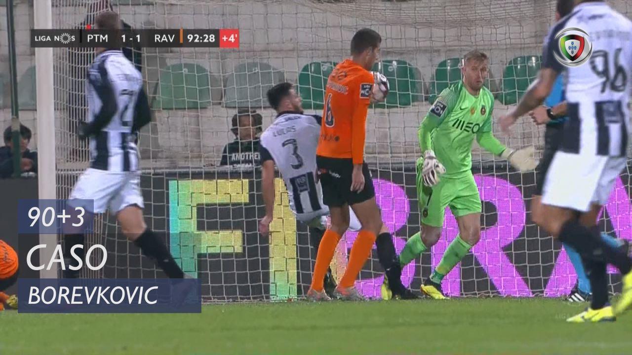 Rio Ave FC, Caso, Borevkovic aos 90'+3'