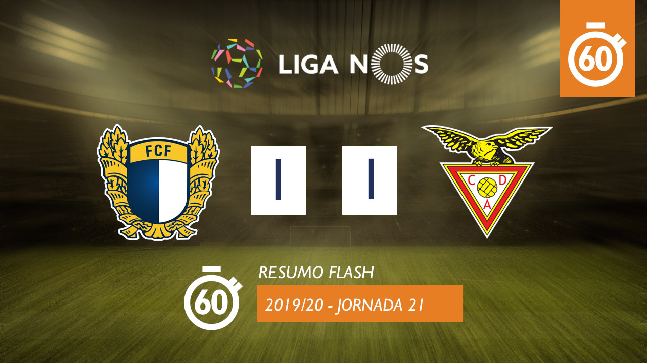 I Liga (21ªJ): Resumo Flash FC Famalicão 1-1 CD Aves