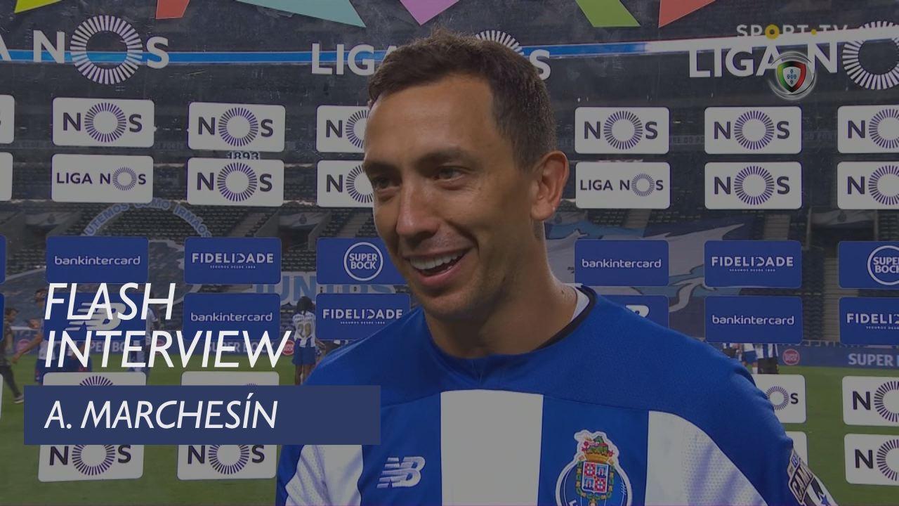 """Marchesín: """"Ainda temos um jogo com o Benfica"""""""