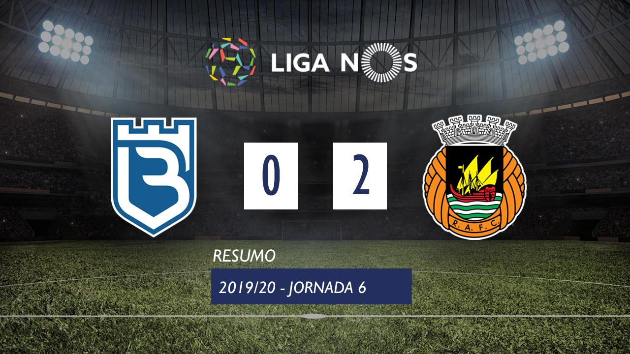 I Liga (6ªJ): Resumo Belenenses 0-2 Rio Ave FC