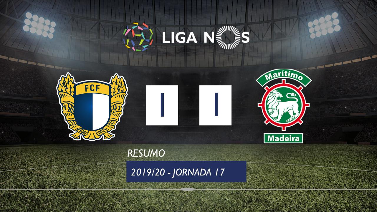 Liga NOS (17ªJ): Resumo FC Famalicão 1-1 Marítimo M.