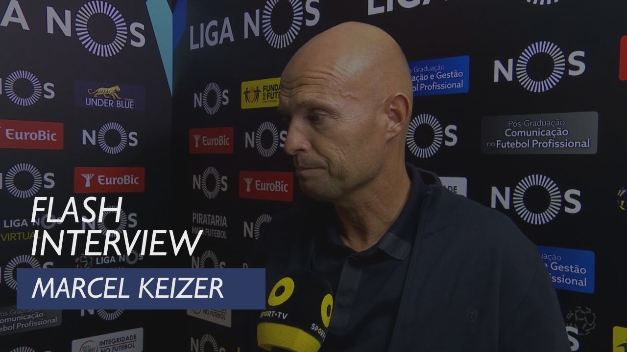 Liga (2ª): Flash Interview Marcel Keizer