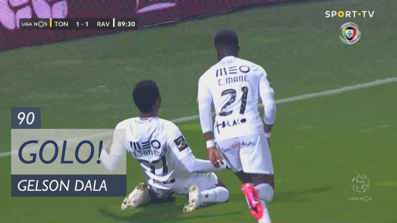 GOLO! Rio Ave FC, Gelson Dala aos 90', CD Tondela 1-2 Rio Ave FC