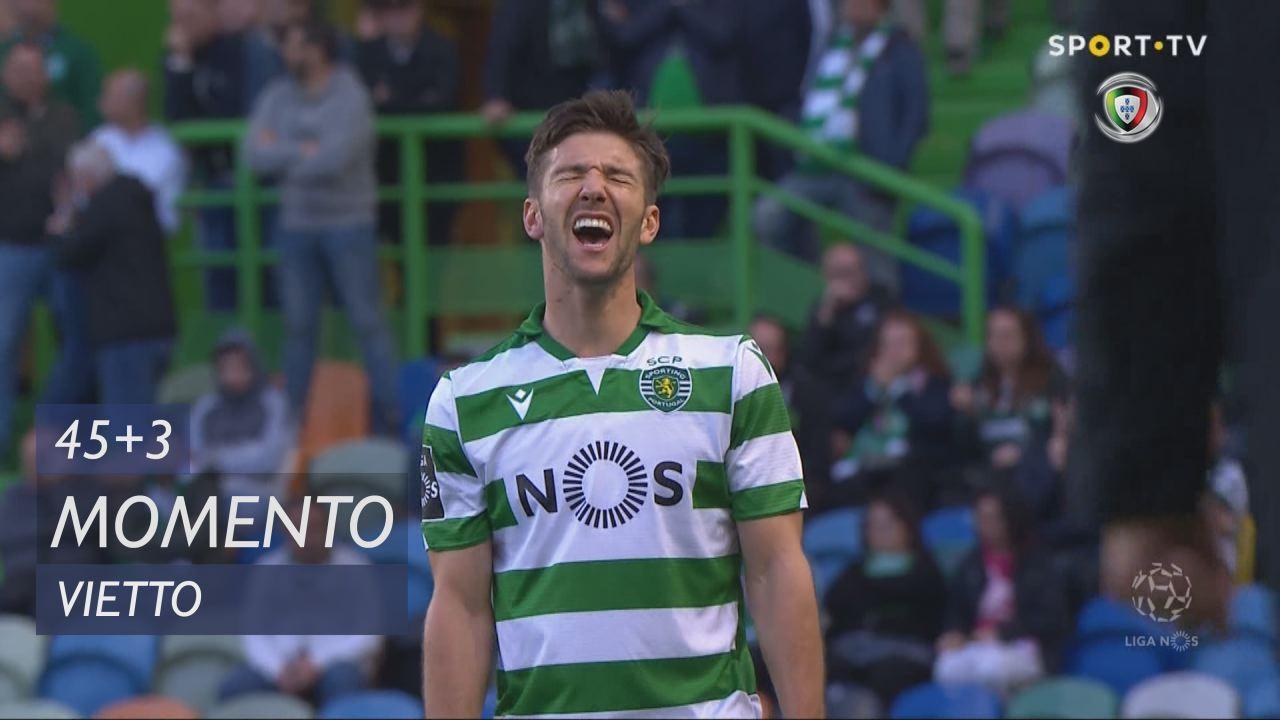 Sporting CP, Jogada, Vietto aos 45'+3'