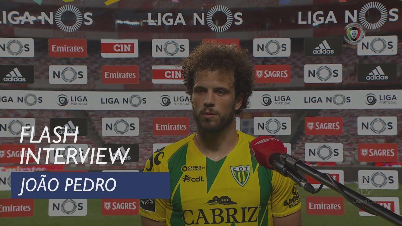 """João Pedro: """"Trabalhámos muito e bem"""""""