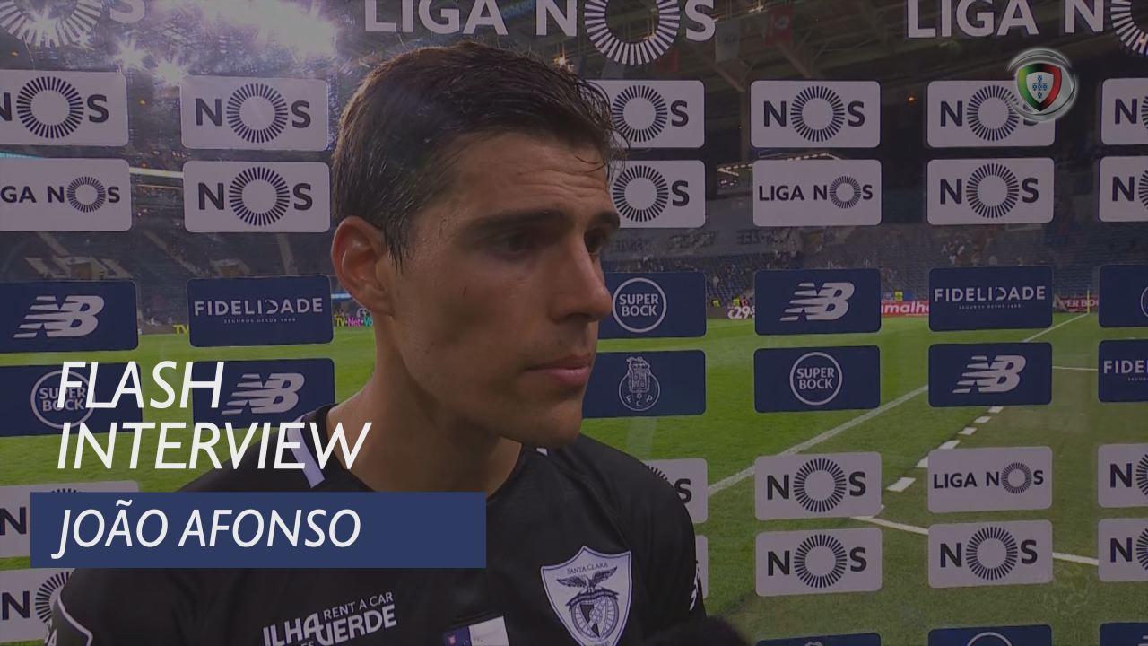Liga (6ª): Flash Interview João Afonso