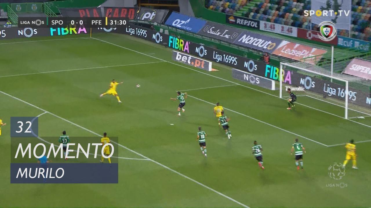 FC P.Ferreira, Jogada, Murilo aos 32'