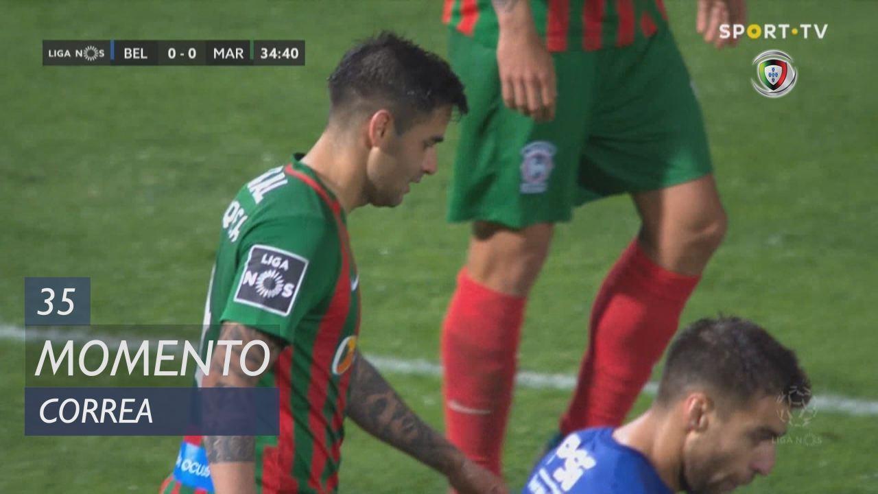 Marítimo M., Jogada, Correa aos 35'