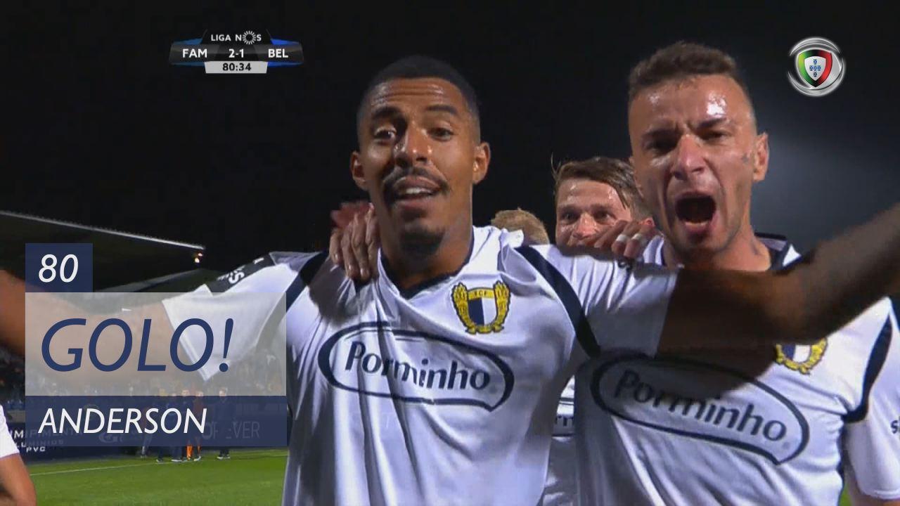 GOLO! FC Famalicão, Anderson aos 80', FC Famalicão 2-1 Belenenses
