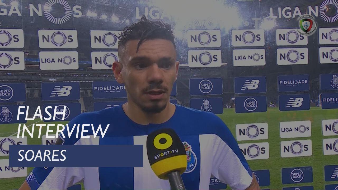 Liga (17ª): Flash Interview Soares