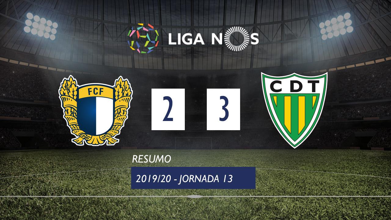 Liga NOS (13ªJ): Resumo FC Famalicão 2-3 CD Tondela
