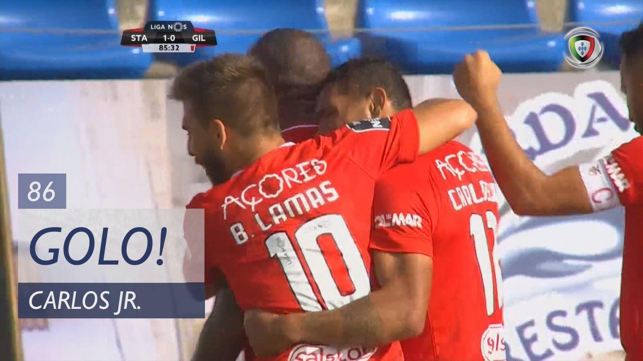 GOLO! Santa Clara, Carlos Jr. aos 86', Santa Clara 1-0 Gil Vicente FC