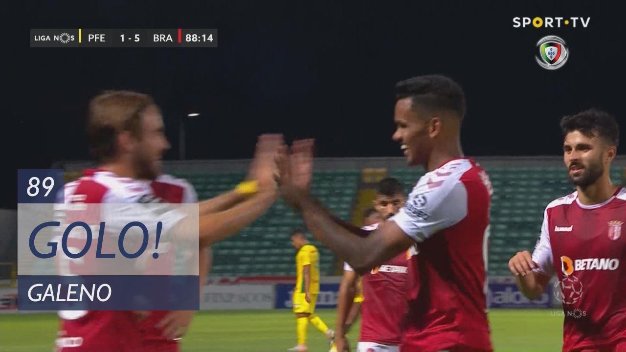 GOLO! SC Braga, Galeno aos 89', FC P.Ferreira 1-5 SC Braga