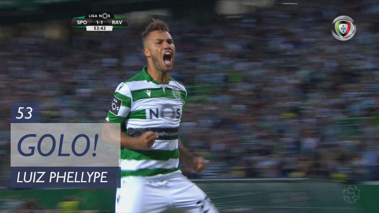 GOLO! Sporting CP, Luiz Phellype aos 53', Sporting CP 2-1 Rio Ave FC