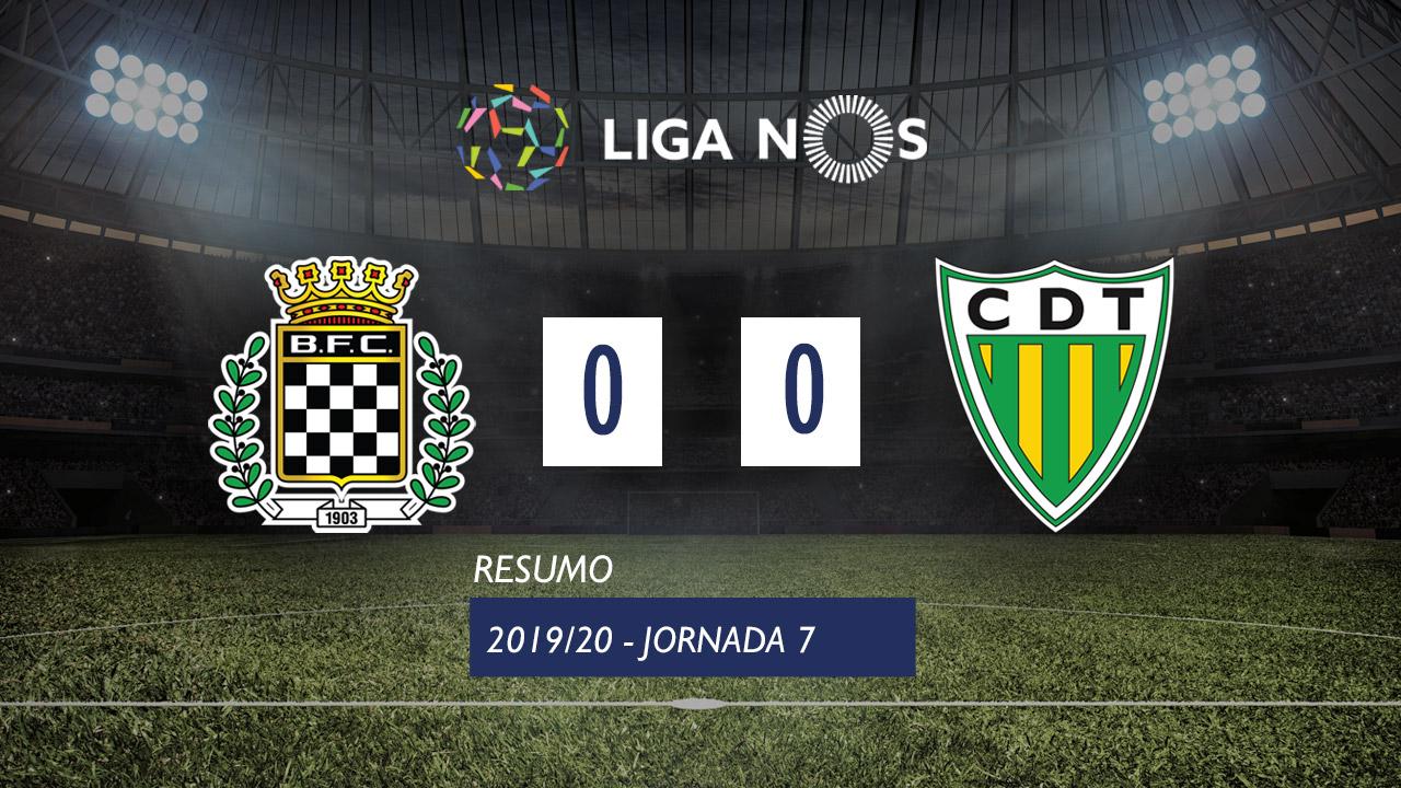 I Liga (7ªJ): Resumo Boavista FC 0-0 CD Tondela