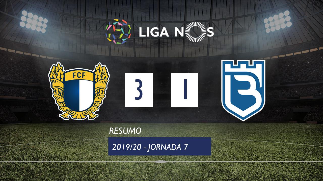 Liga NOS (7ªJ): Resumo FC Famalicão 3-1 Belenenses SAD