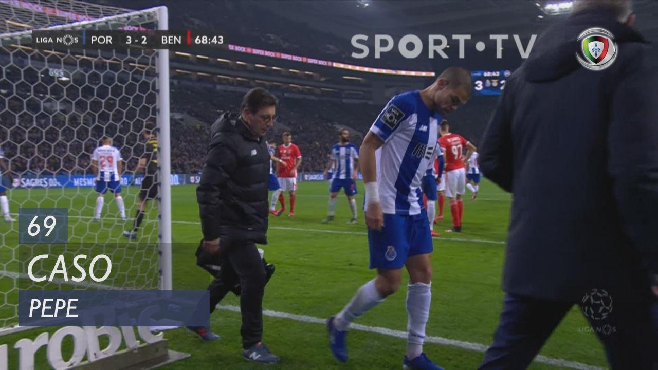 FC Porto, Caso, Pepe aos 69'