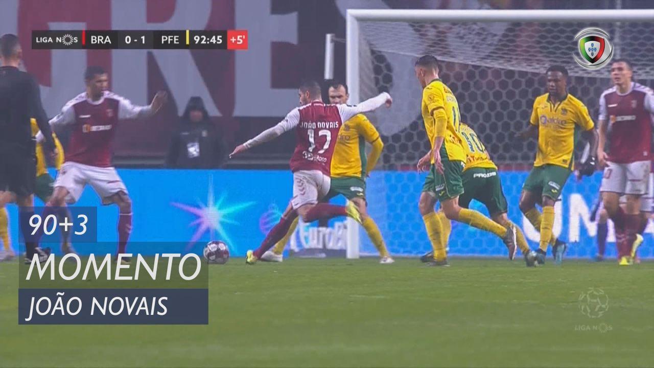 SC Braga, Jogada, João Novais aos 90'+3'