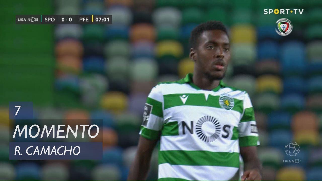 Sporting CP, Jogada, Rafael Camacho aos 7'