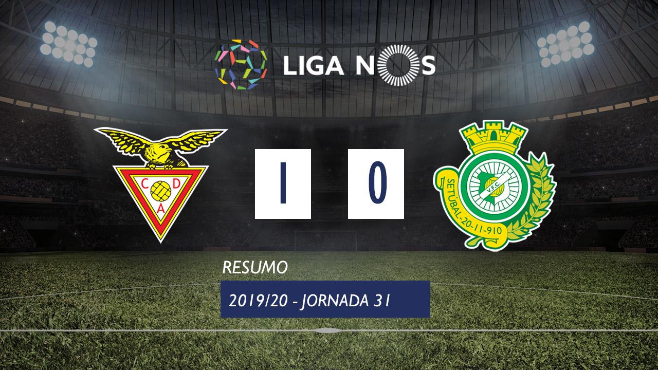 I Liga (31ªJ): Resumo CD Aves 1-0 Vitória FC