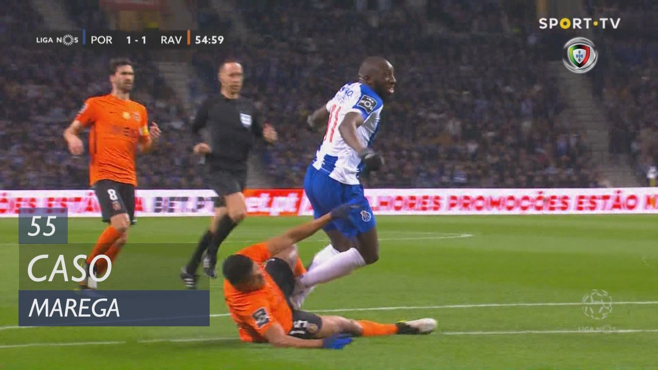 FC Porto, Caso, Marega aos 55'