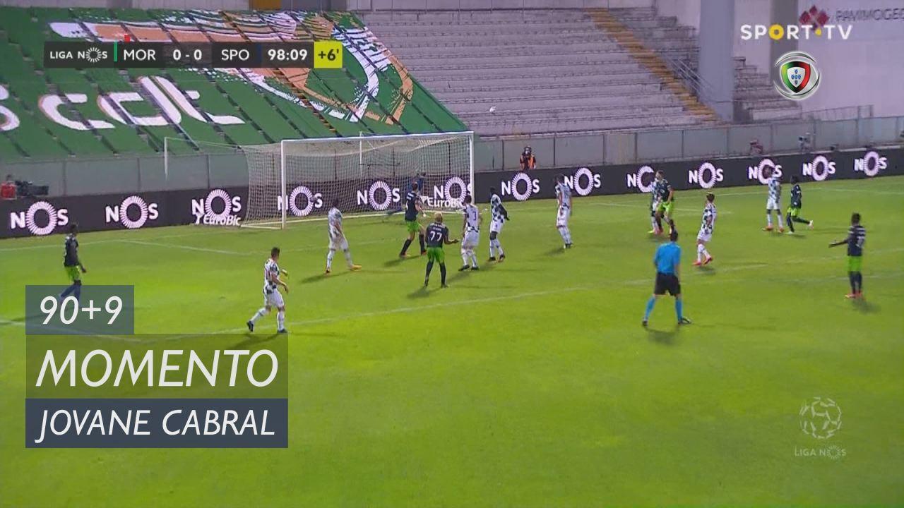 Sporting CP, Jogada, Jovane Cabral aos 90'+9'