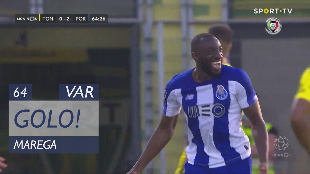 GOLO! FC Porto, Marega aos 64', CD Tondela 0-2 FC ...