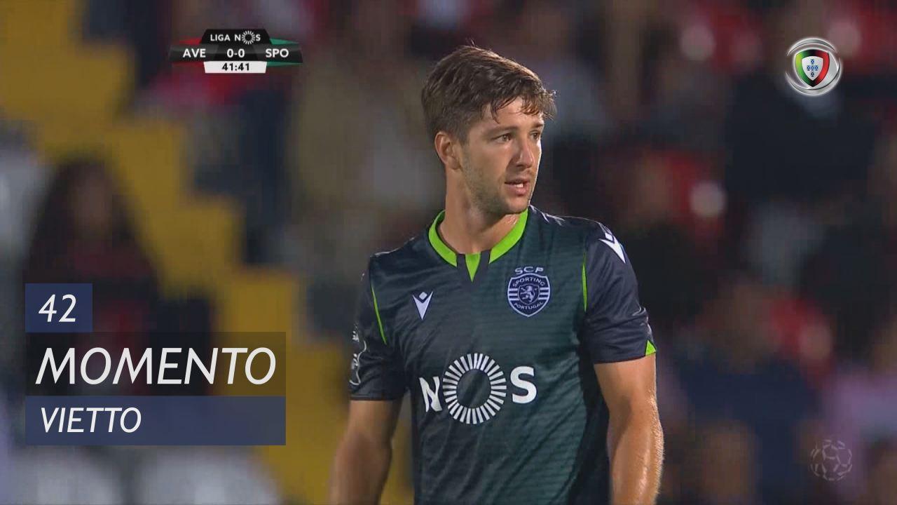 Sporting CP, Jogada, Vietto aos 42'